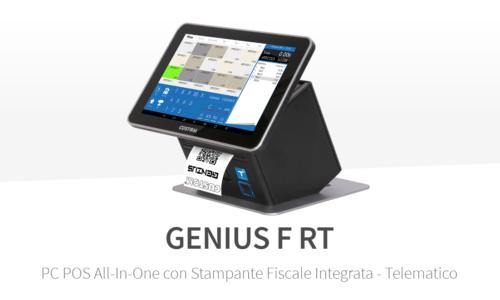 REGISTRATORE DI CASSA TELEMATICO Custom Genius F RT