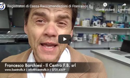 Registratori di cassa telematici – Le raccomandazioni di Francesco Barchiesi