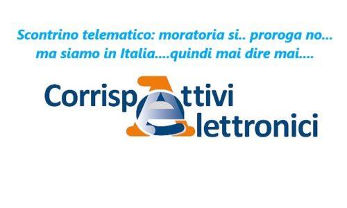 Scontrino telematico: moratoria si.. proroga no… ma siamo in Italia….quindi mai dire mai….