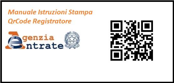 Stampa QrCode Registratore Telematico
