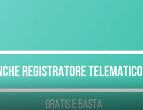 Registratore di Cassa Telematico Pos e Banche… gratis e basta
